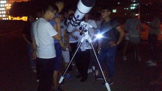 天文科普走进河北科技大学